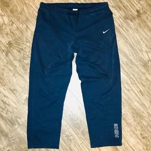 Nike Classic Swoosh Joggers Sweatpants Spell Out